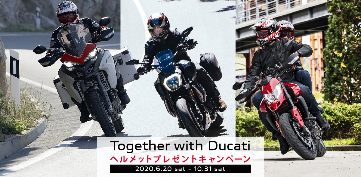TOGETHER WITH DUCATI CAMPAIGN 10/31