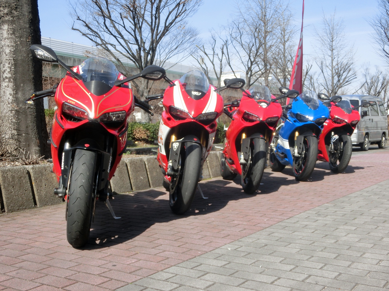 PANIGALEの撮影会!