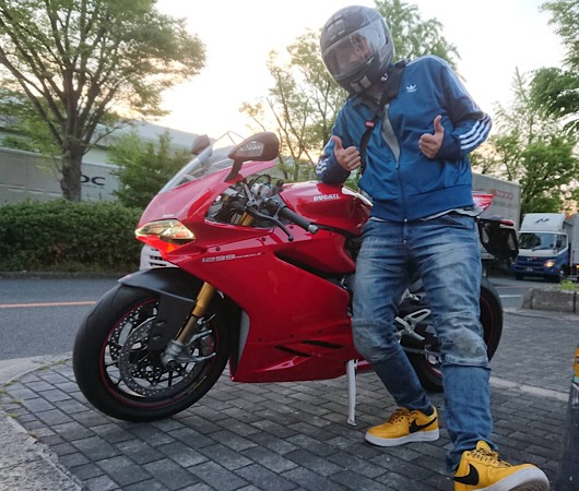 PANIGALE 最後の二気筒!!!
