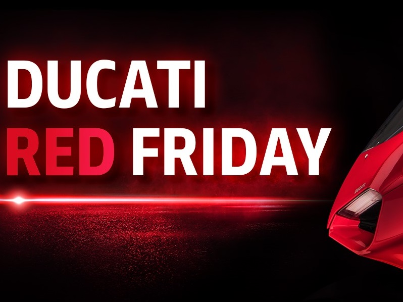 ◆Ducati Red Friday